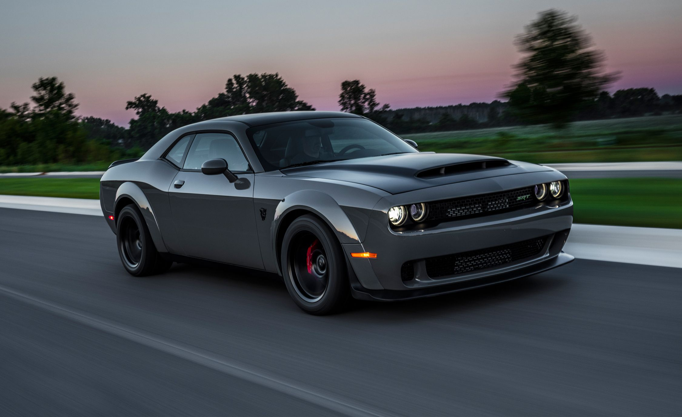 2018 Dodge Challenger Srt Demon First Drive Review Car And Driver