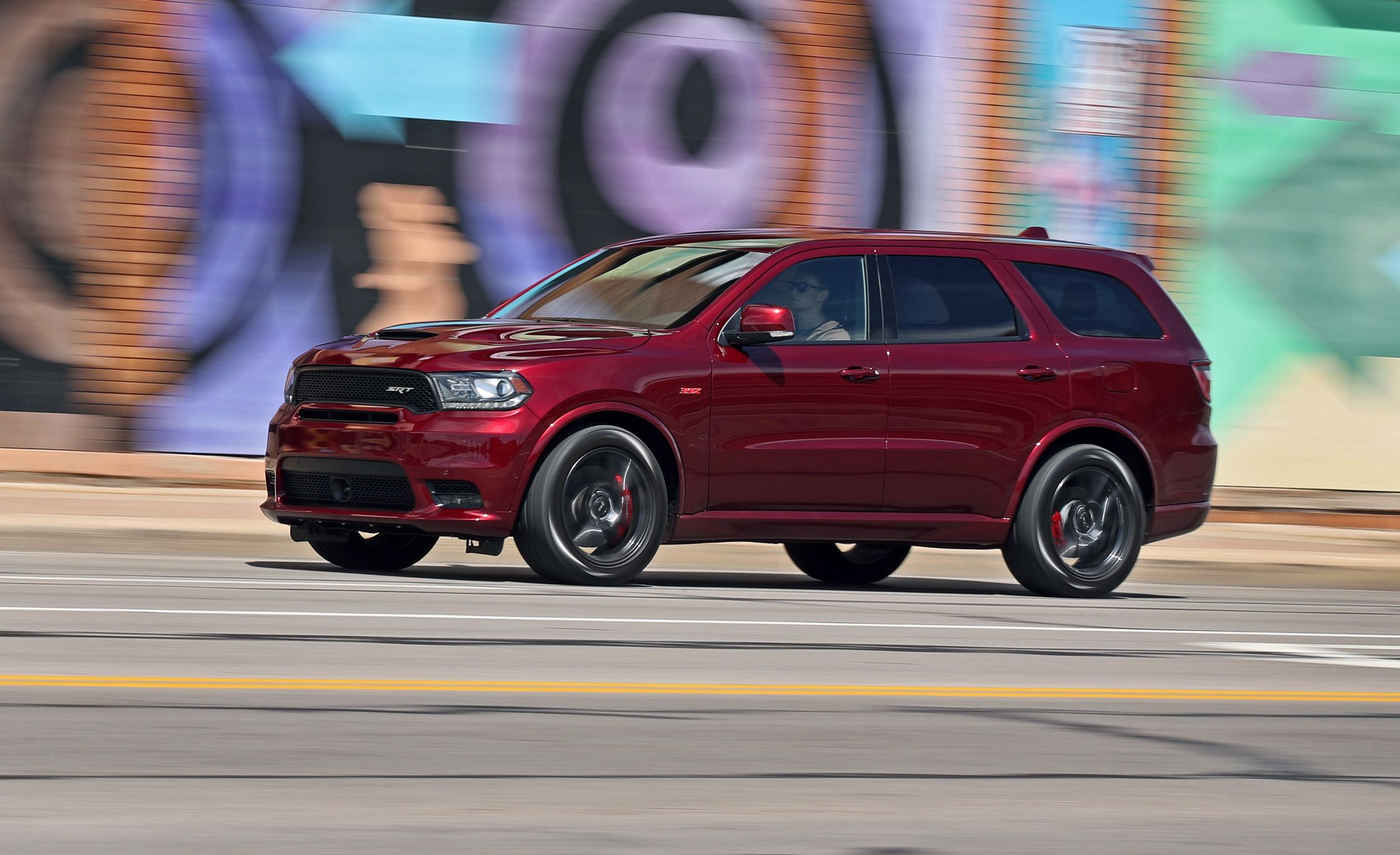 dodge durango srt reviews dodge durango srt price photos and specs car and driver. Black Bedroom Furniture Sets. Home Design Ideas