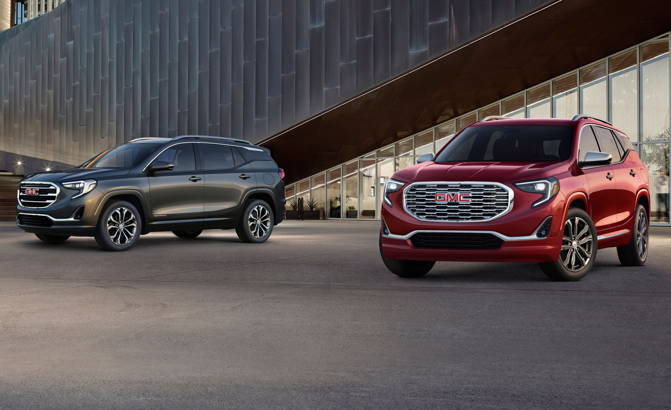 2018 Gmc Terrain First Drive Review Car And Driver