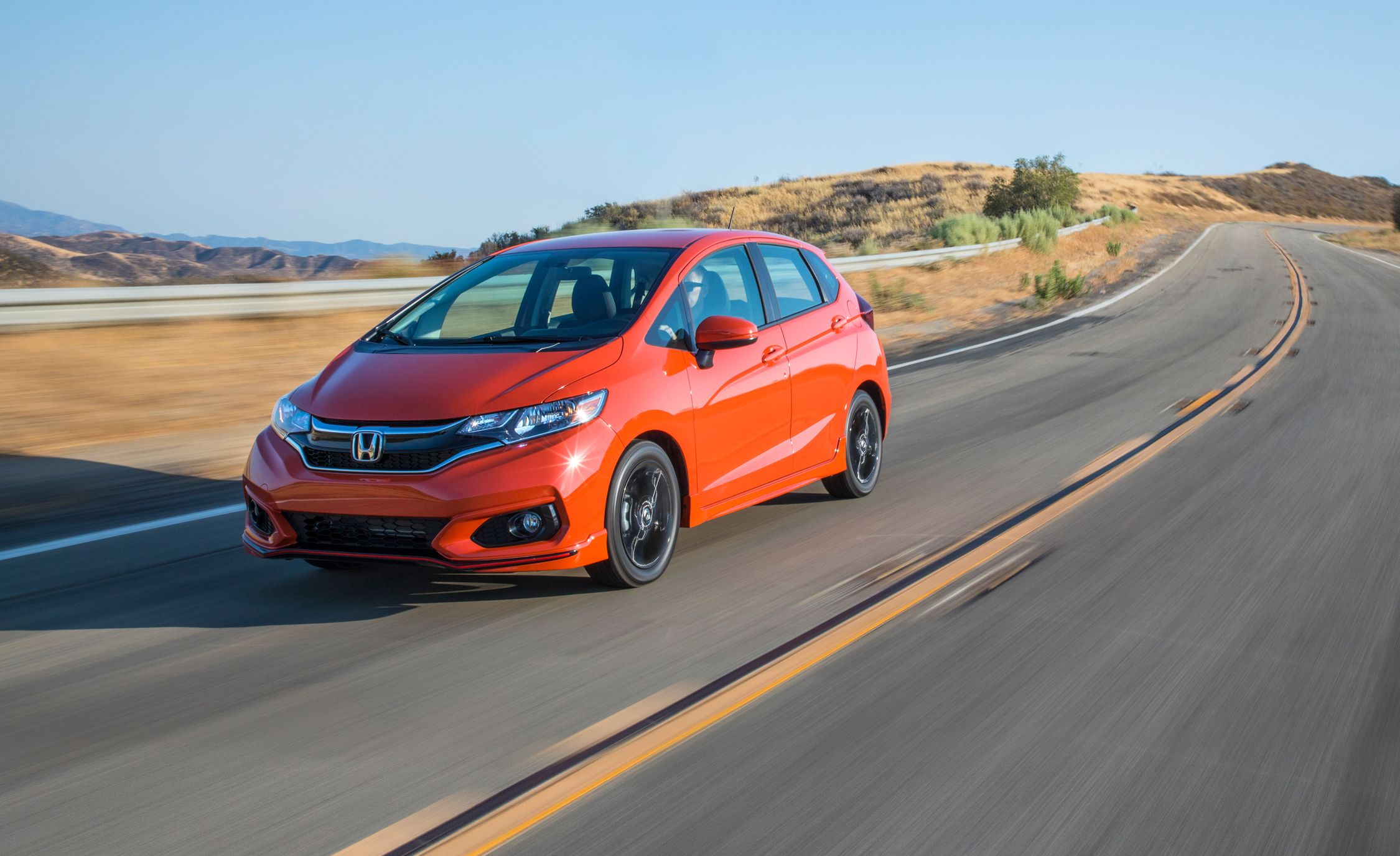 2018 Honda Fit First Drive Review Car And Driver