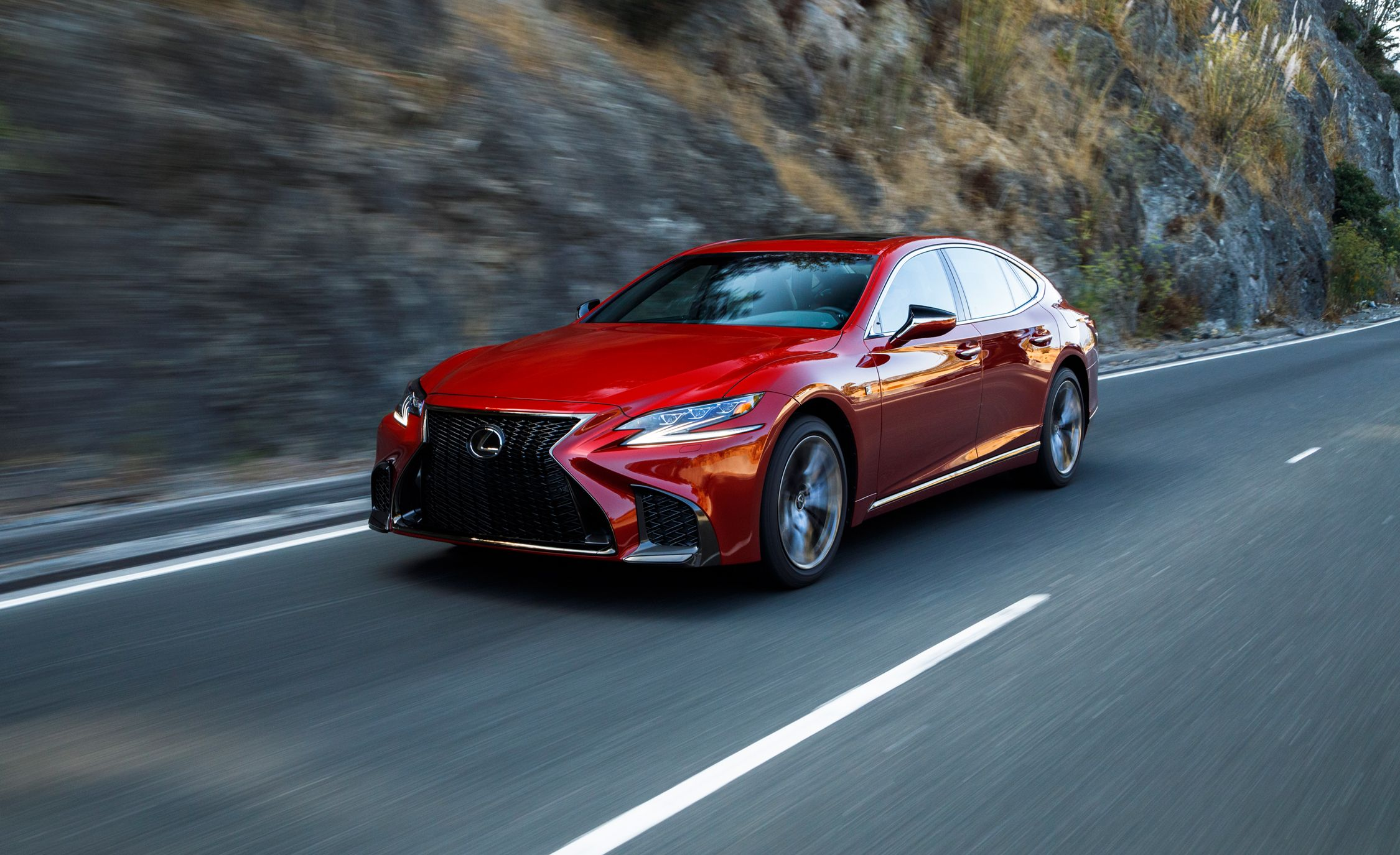 2018 Lexus Ls First Drive Review Car And Driver