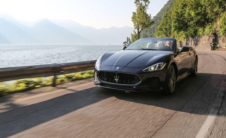2018 Maserati GranTurismo Coupe and Convertible
