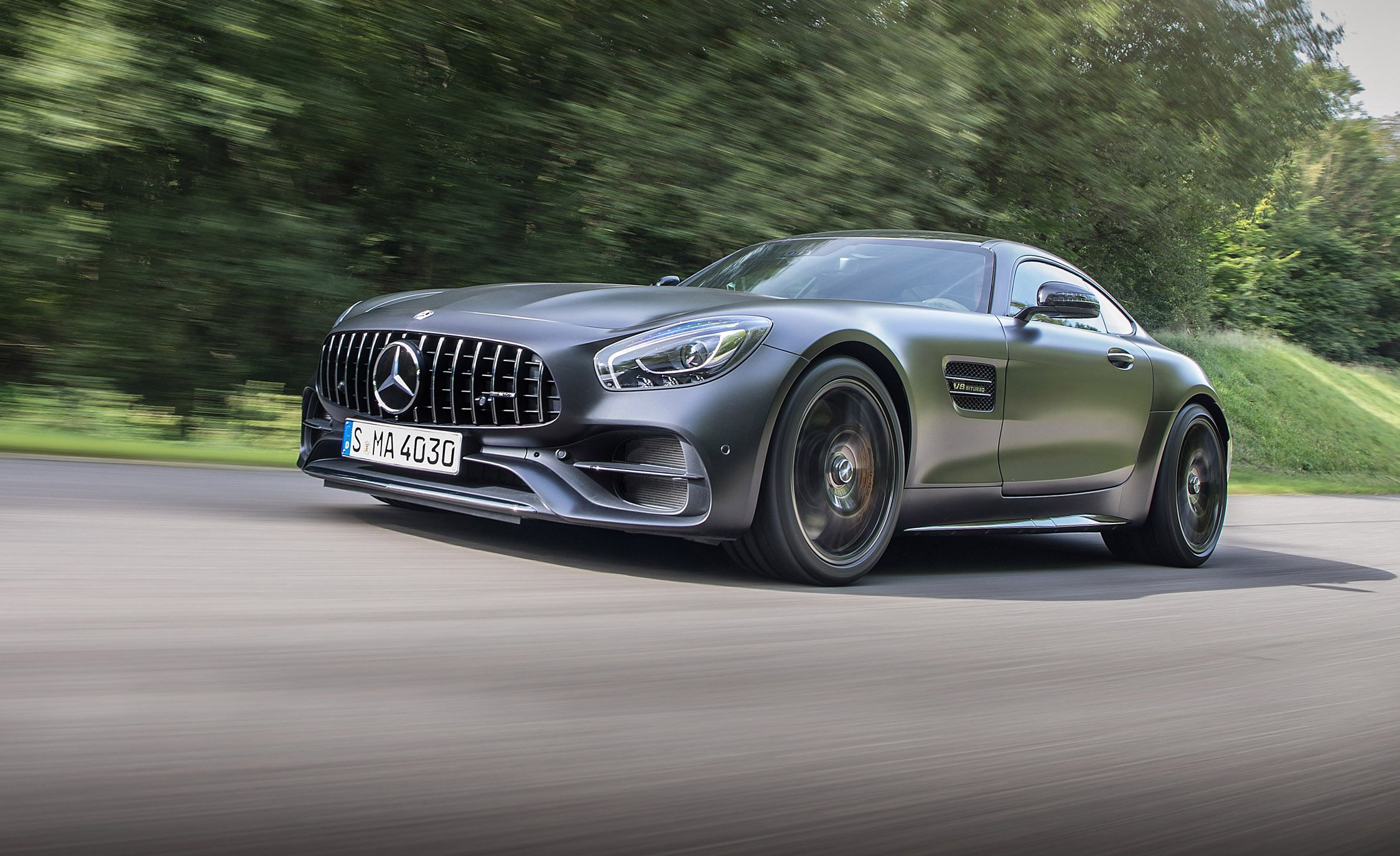 2018 Mercedes-AMG GT C Coupe First Drive | Review | Car ...