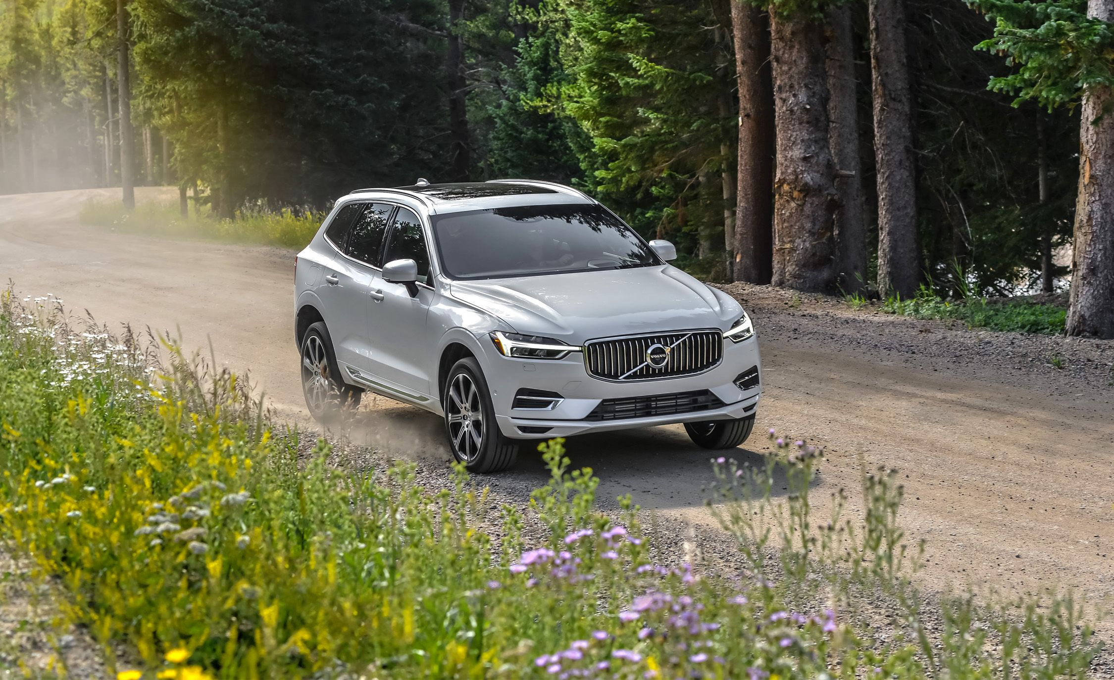 2018 volvo xc60 t8 plug in hybrid first drive review car and driver. Black Bedroom Furniture Sets. Home Design Ideas