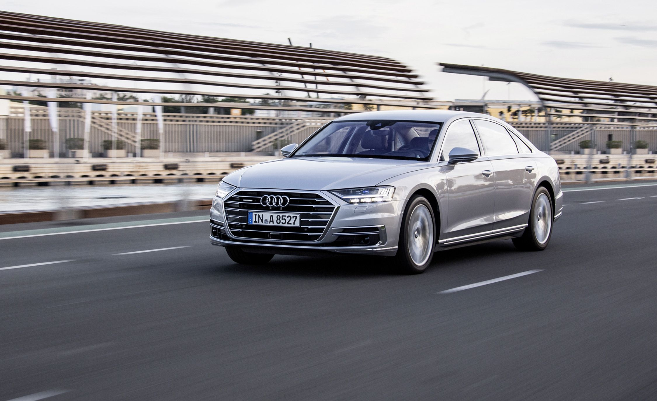 Audi a8 reviews audi a8 price photos and specs car and driver sciox Image collections