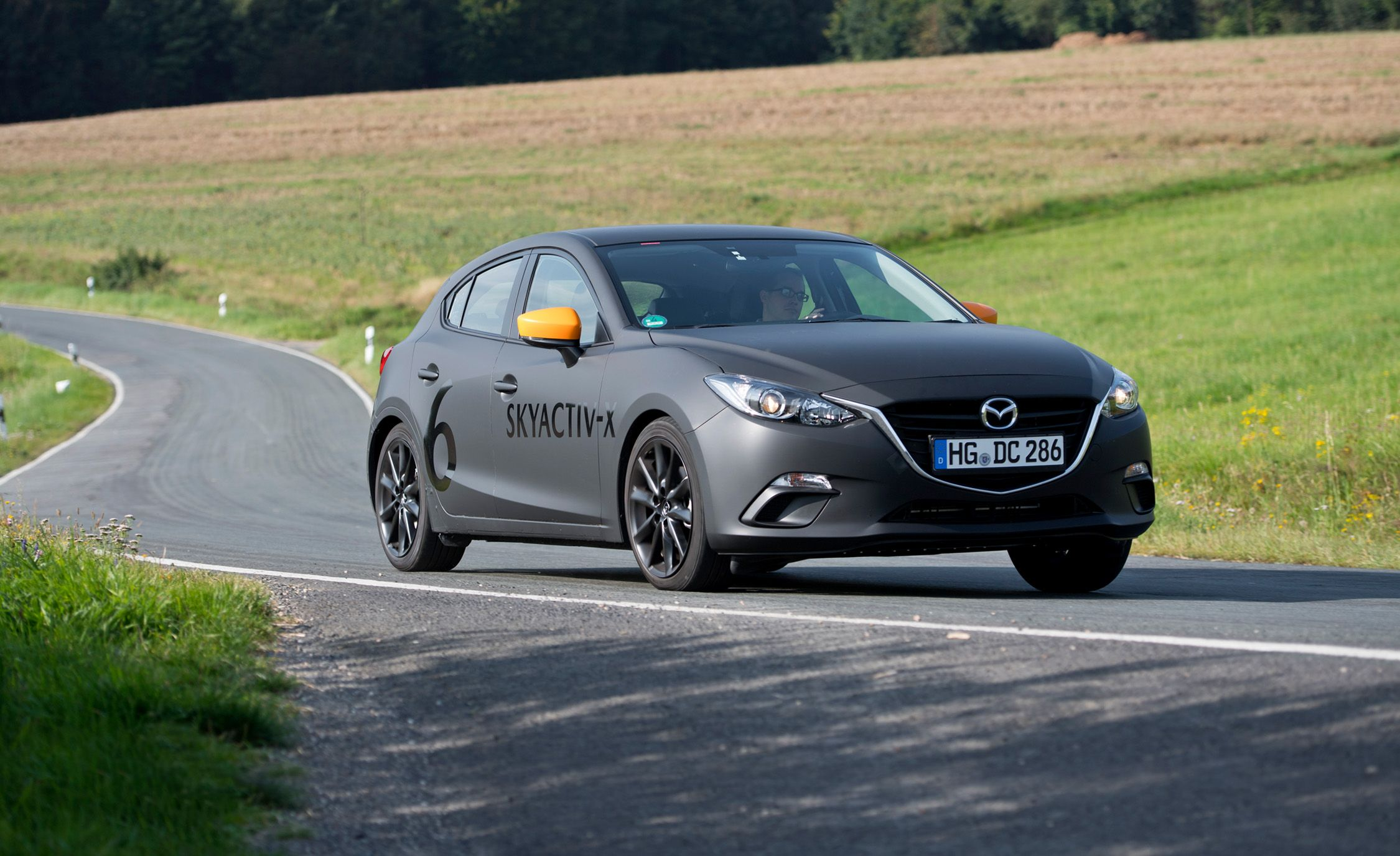 Driving Mazda's Next Mazda 3 with Its Skyactiv-X Compression-Ignition Gas Engine