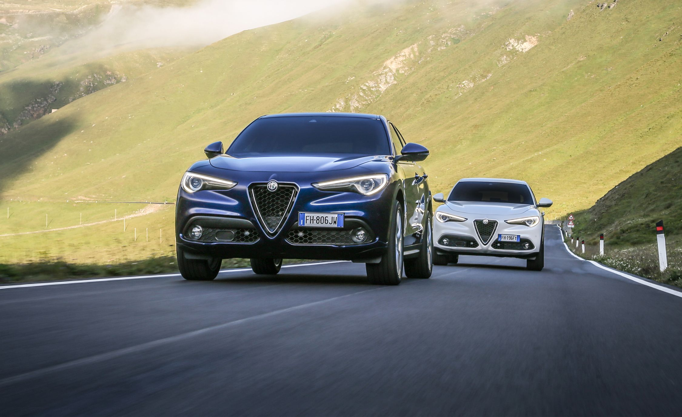 Alfa Romeo Stelvio 2 0t And 2 2d Euro Spec First Drive Review