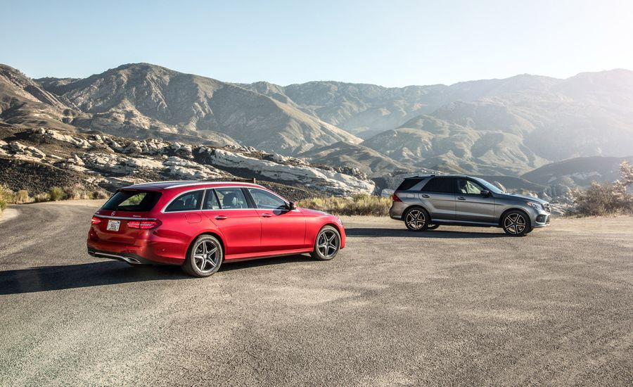 2017 Mercedes-AMG GLE43 vs. 2017 Mercedes-Benz E400 Wagon