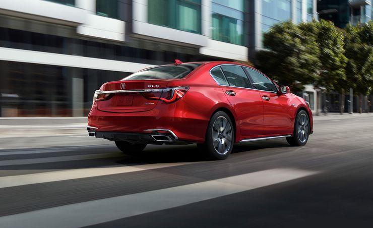 2018 Acura RLX: Powering Ahead, Sans Beak