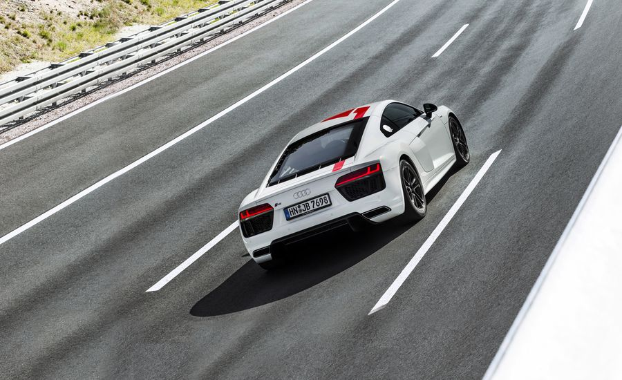 Audi R V RWS Official Photos And Info News Car And Driver - 2018 audi r8 for sale