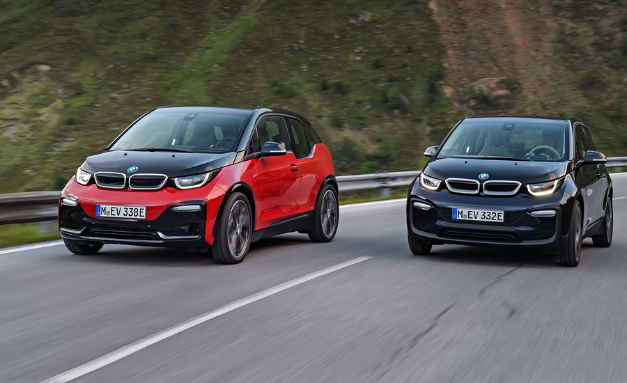 2018 bmw i3 and i3s photos and info news car and driver. Black Bedroom Furniture Sets. Home Design Ideas