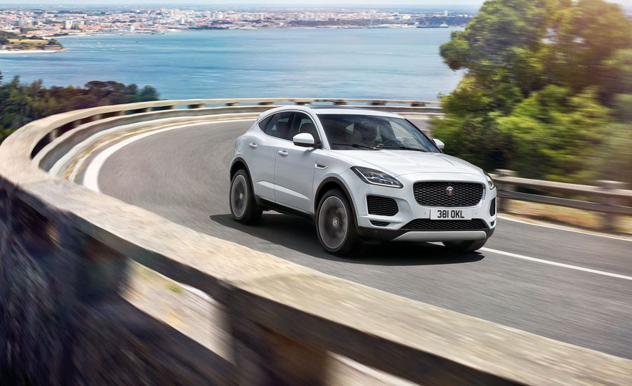 2018 Jaguar E-Pace: Designed to Cross Over