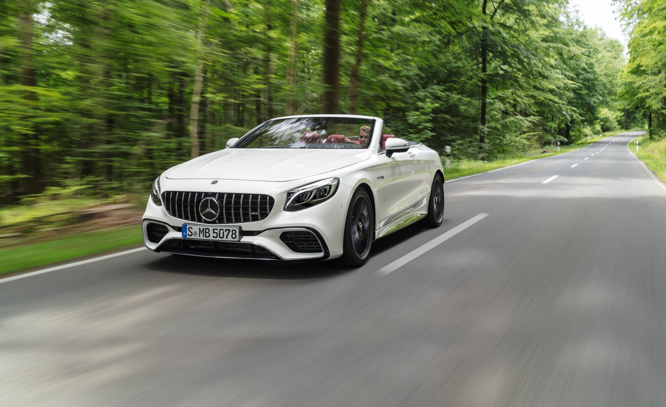 2018 Mercedes-Benz S-class Coupe and Cabriolet