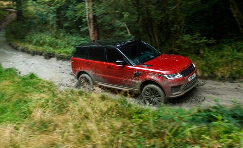 2018 Range Rover Sport Photos And Info News Car And Driver