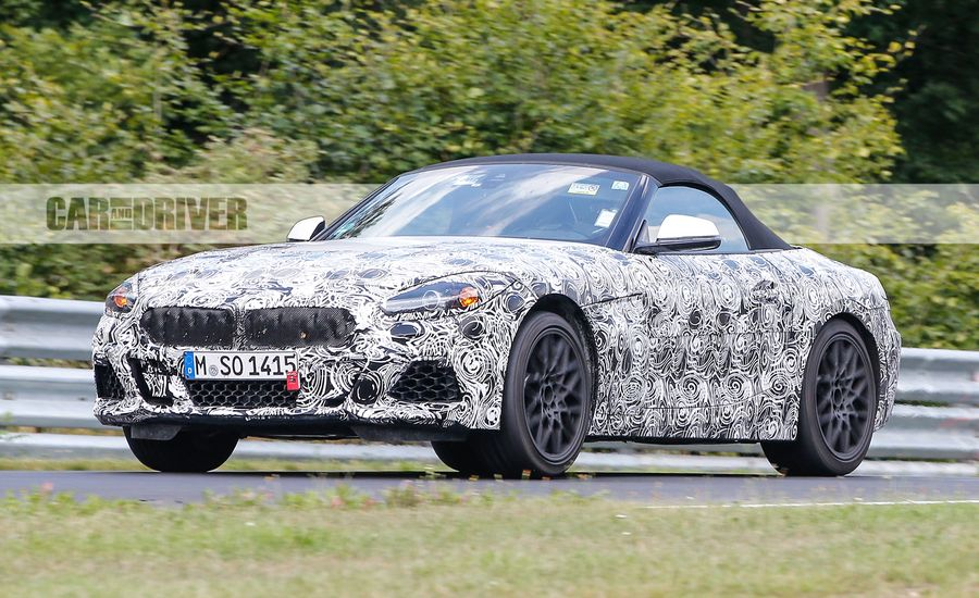 Roadster Return: 2019 BMW Z5 Spied
