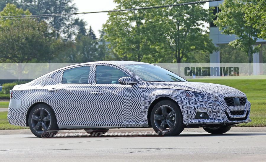 2019 Nissan Altima Spied | News | Car and Driver