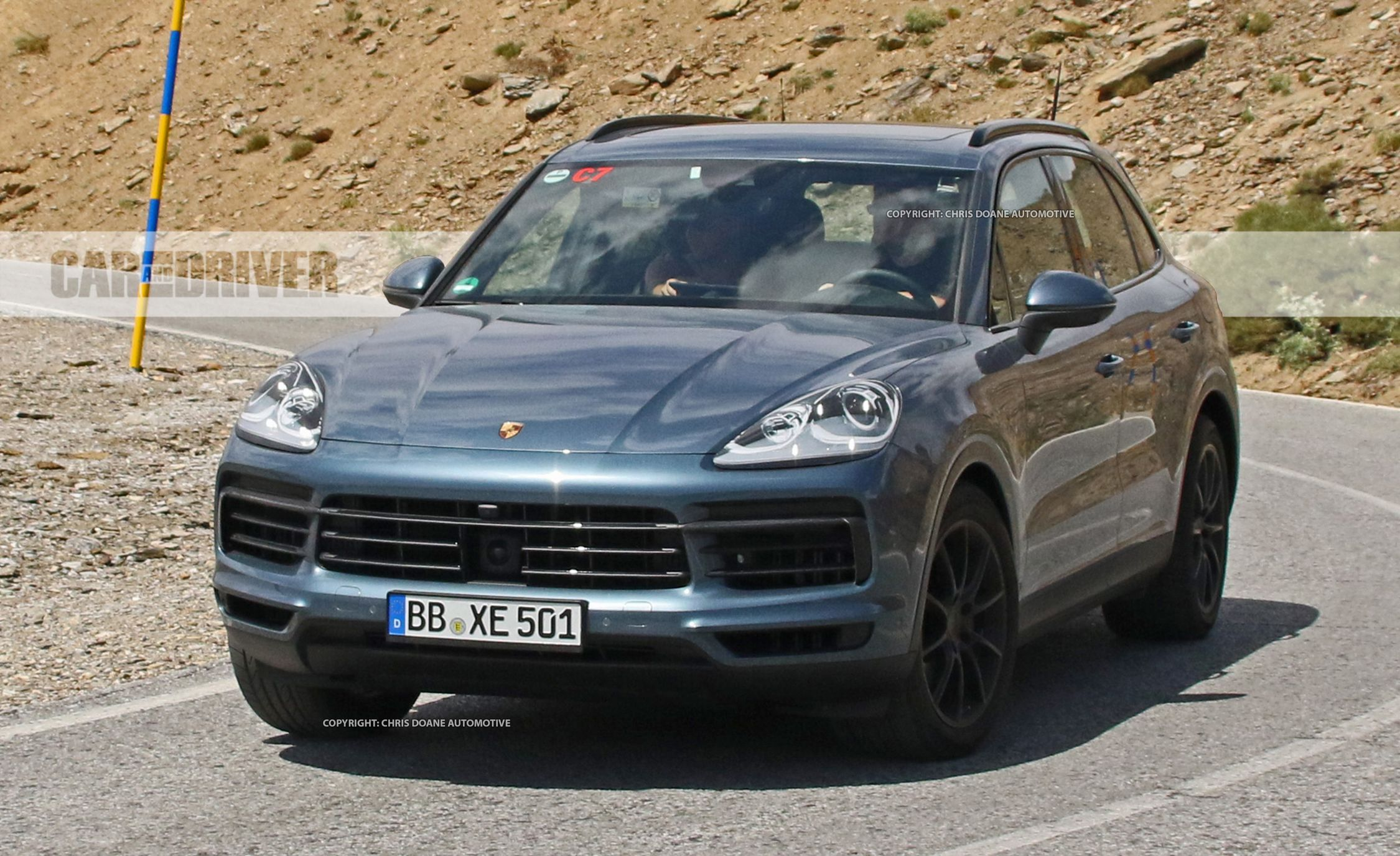 2019 Porsche 911 Turbo S >> 2019 Porsche Cayenne Spy Photos | News | Car and Driver