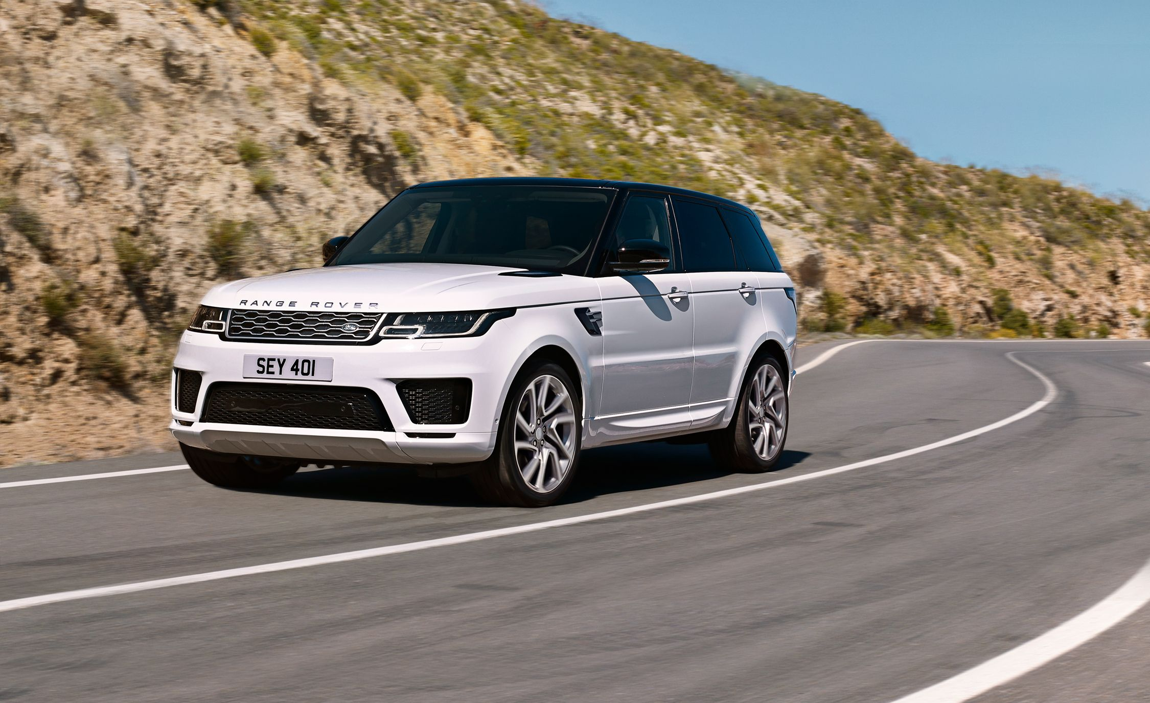 2019 range rover sport p400e photos and info news car and driver. Black Bedroom Furniture Sets. Home Design Ideas