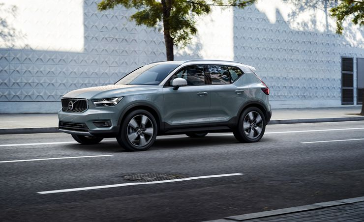 2019 Volvo XC40: Get Small