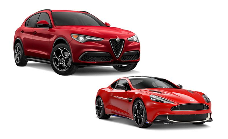 New Cars for 2018: Alfa Romeo and Aston Martin