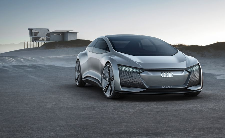 Audi Elaine and Aicon Concepts: Highly Automated Versus Fully Autonomous
