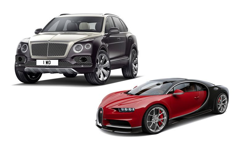 New Cars for 2018: Bentley and Bugatti