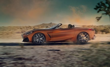 BMW Concept Z4: Presaging the Next Bimmer Roadster (and the New Toyota Supra)
