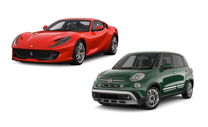 New Cars For 2018: Ferrari And Fiat