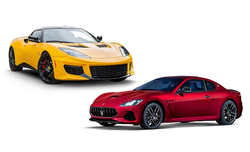 New Cars for 2018: Lotus and Maserati