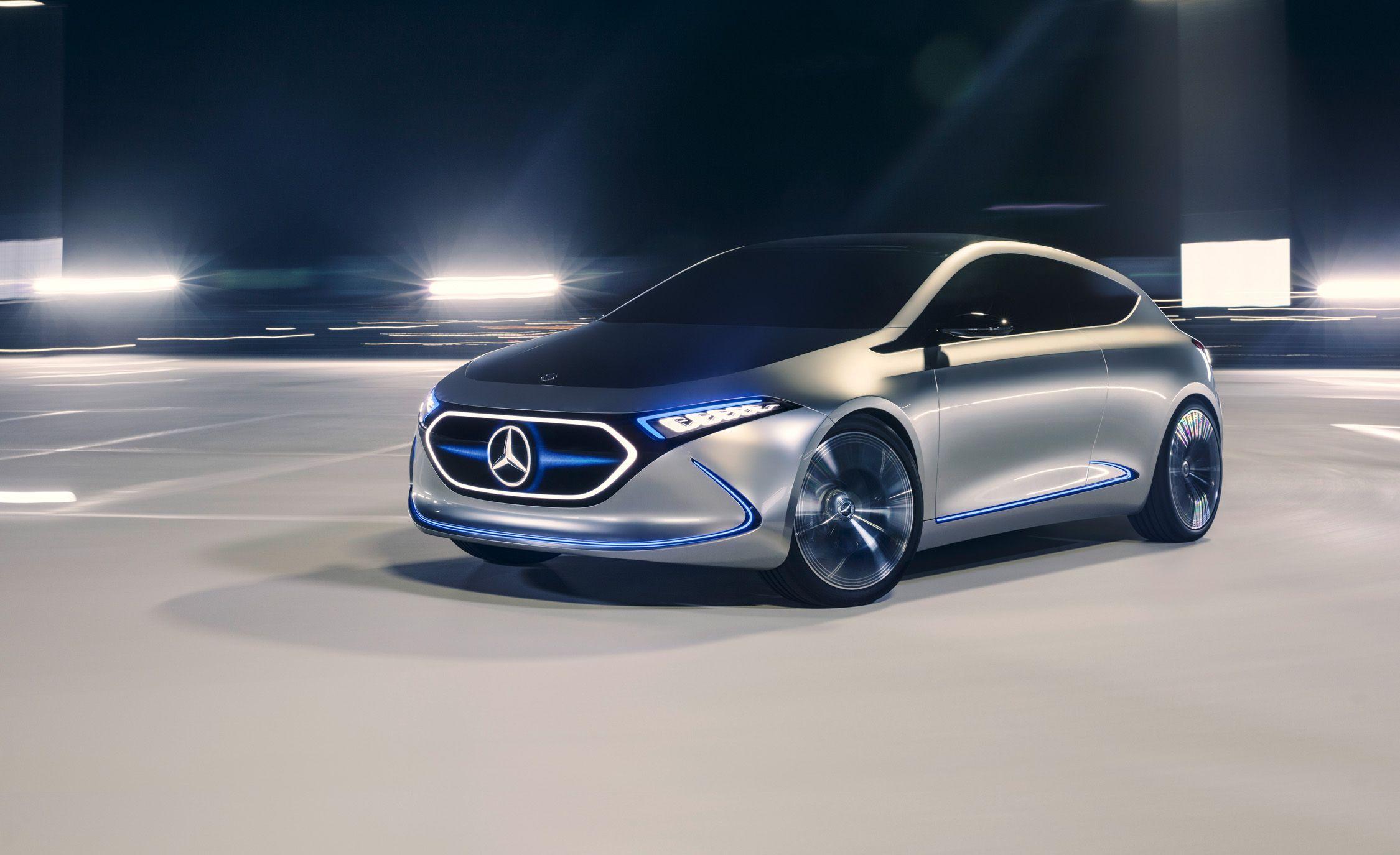 Mercedes-Benz Concept EQA Photos and Info