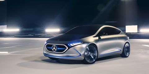 Mercedes Benz Concept Eqa Photos And Info News Car And Driver