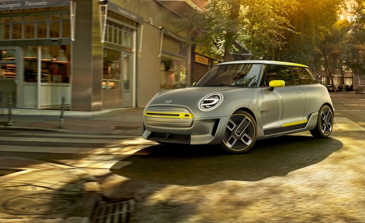 Mini Electric Concept: Return of the Mini E