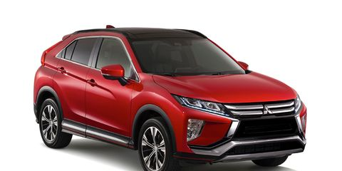Eclipse Cross With A Recognizable Name And Rear End That Reminds Us Of The Pontiac Aztek This Small Crossover Is First All New Mitsubishi In Several