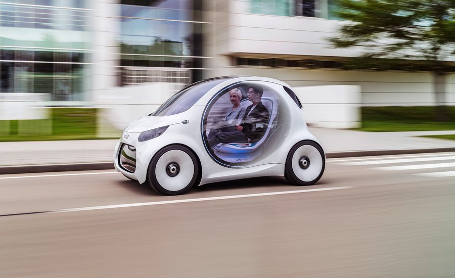 Smart Vision EQ Fortwo: Autonomy without the Indignity
