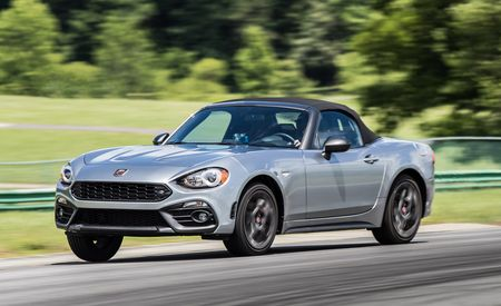 Lightning Lap 2017: Fiat 124 Spider Abarth