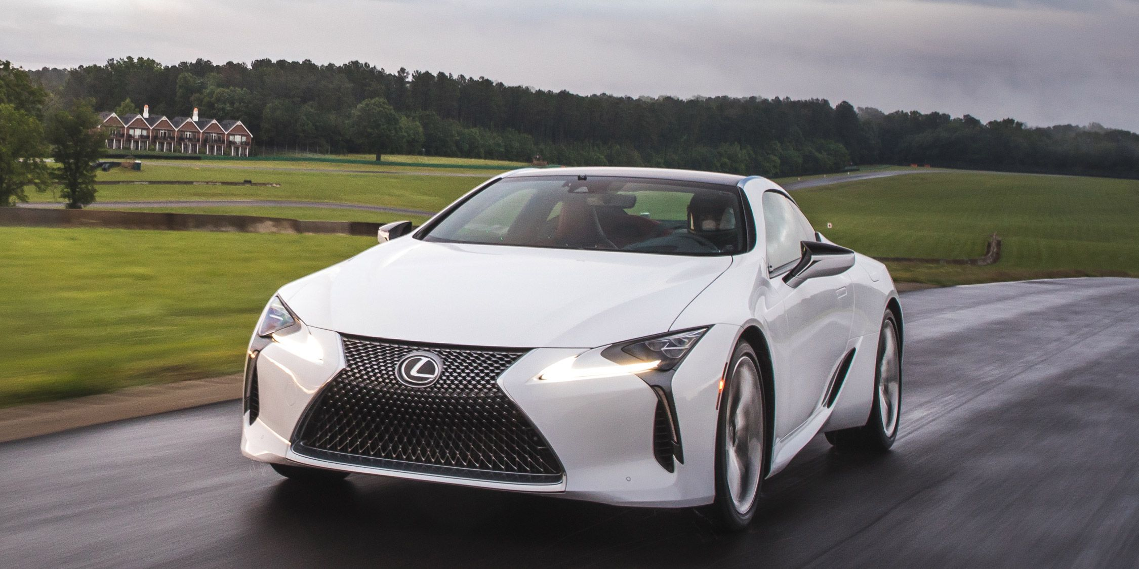 Lexus Lc500 At Lightning Lap 2017 Feature Car And Driver