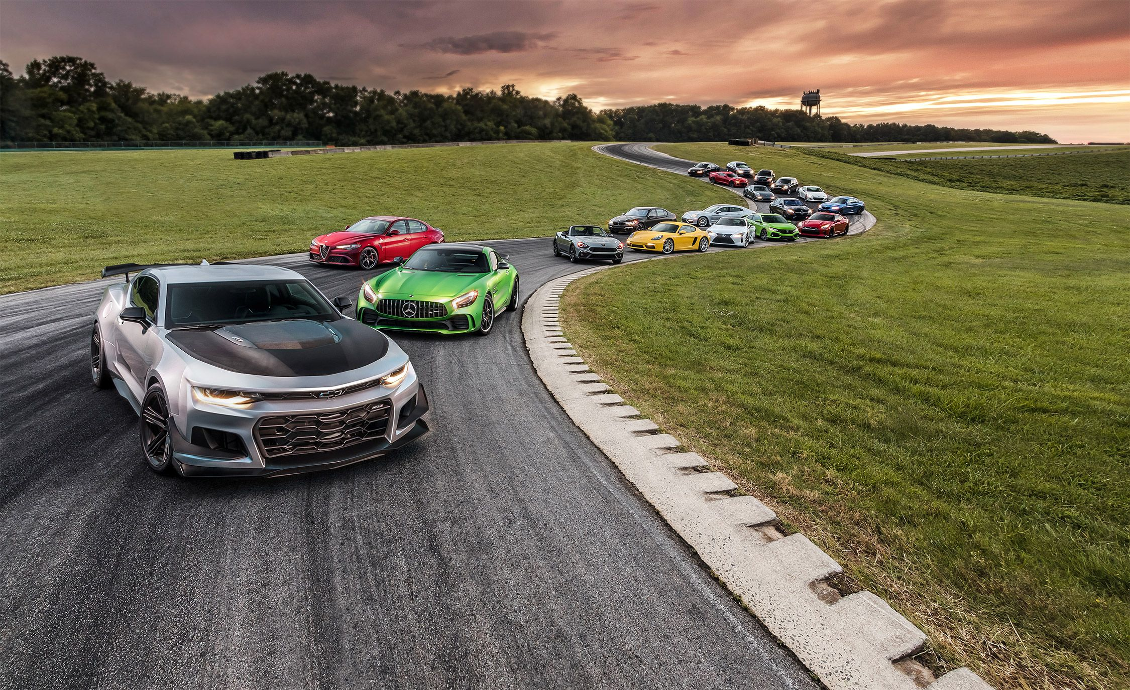 Lightning Lap 2017: 19 New Performance Cars Attack America's Most Grueling Racetrack!