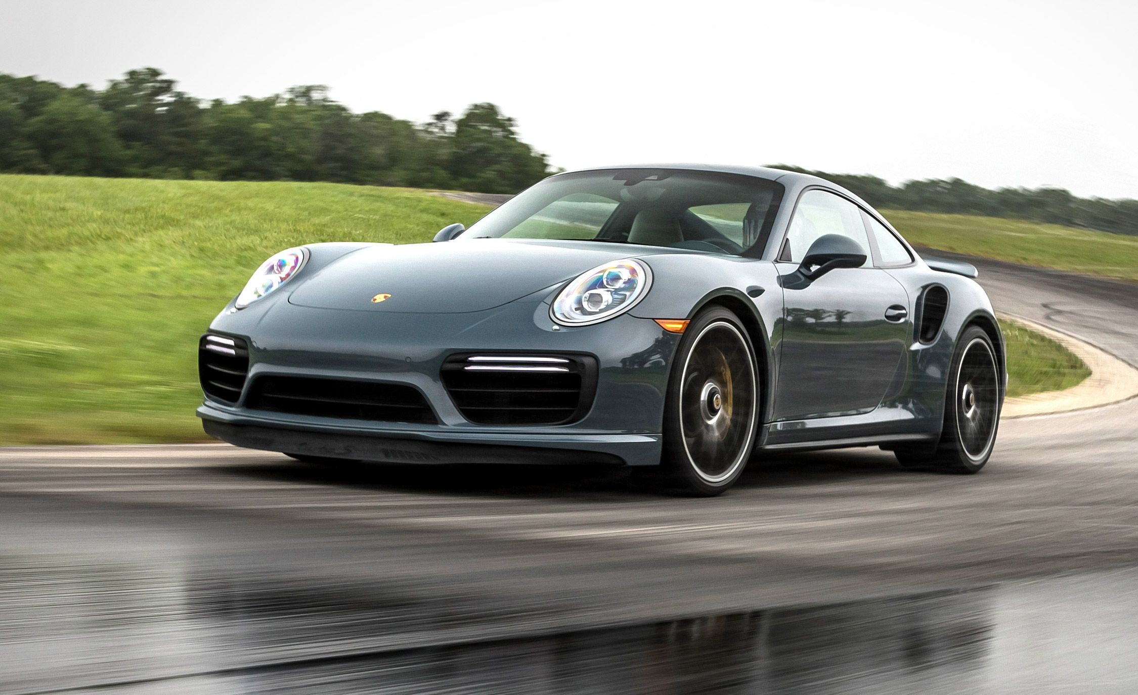 porsche 911 turbo s at lightning lap 2017 feature car and driver