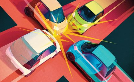 When Autonomous Cars Crash, Who's at Fault?