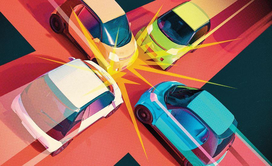When Autonomous Cars Crash, Who's at Fault?