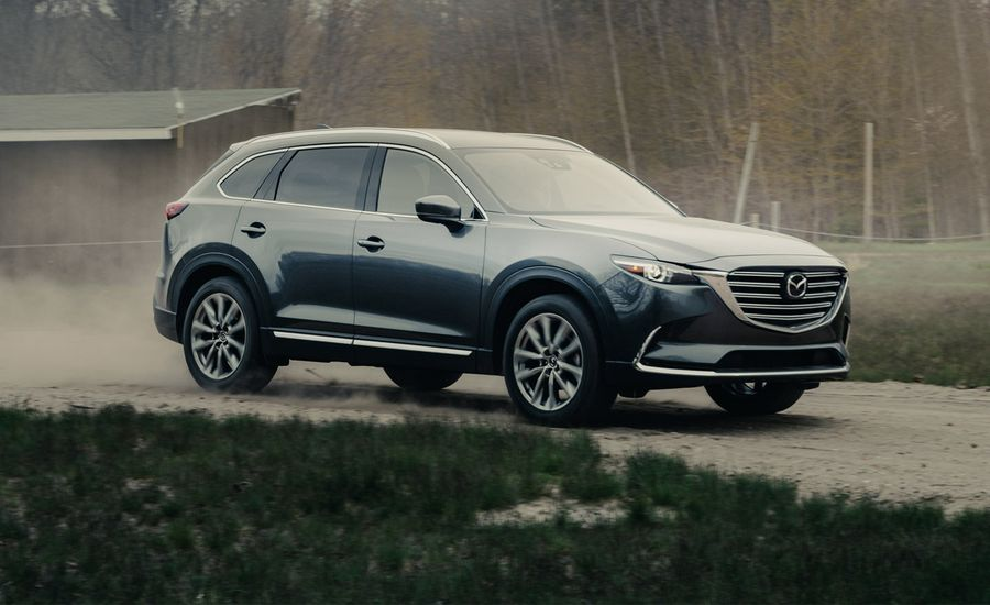 2017 mazda cx 9 signature awd. Black Bedroom Furniture Sets. Home Design Ideas