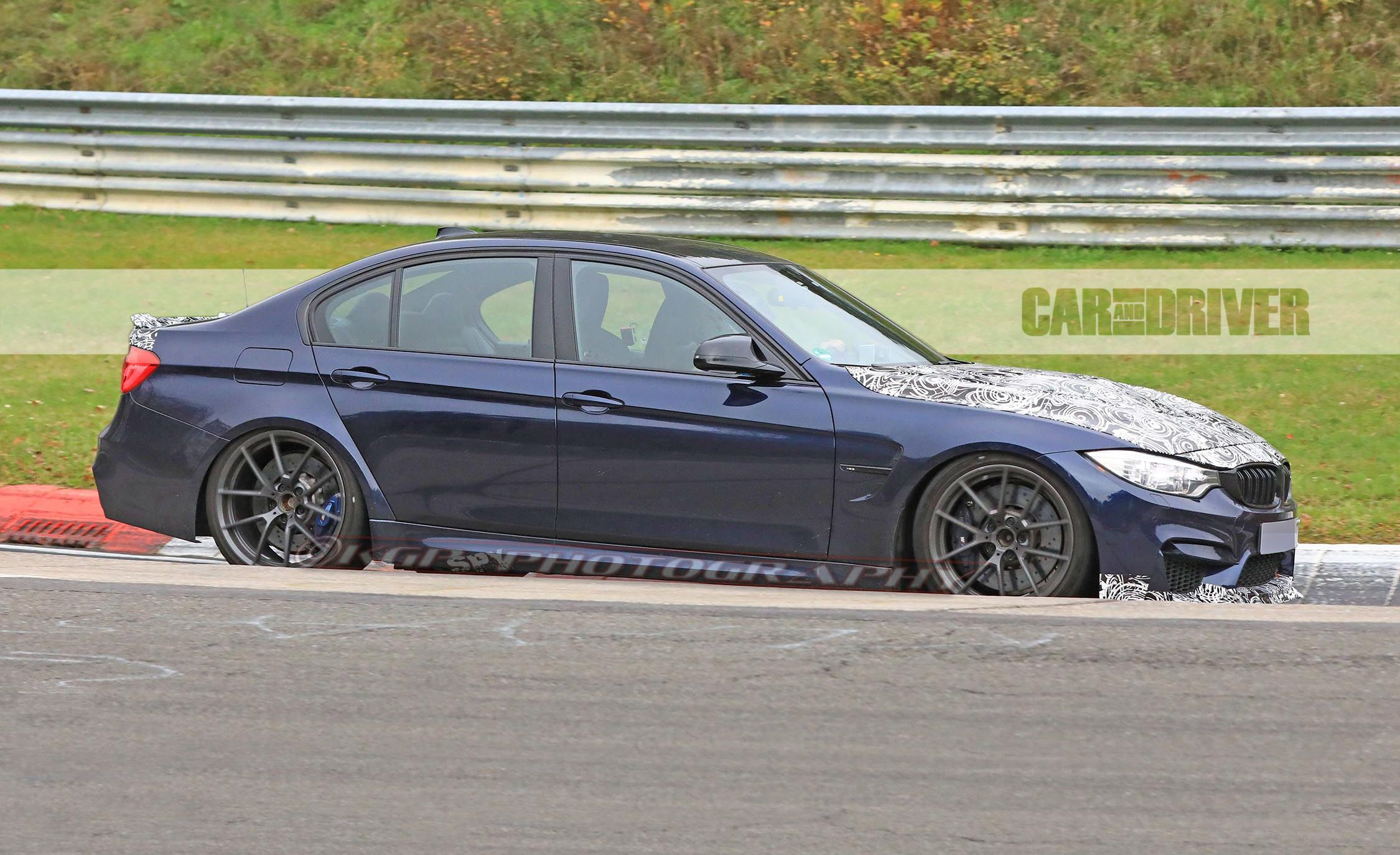 2018 BMW M3 CS Spied Testing on the Nurburgring