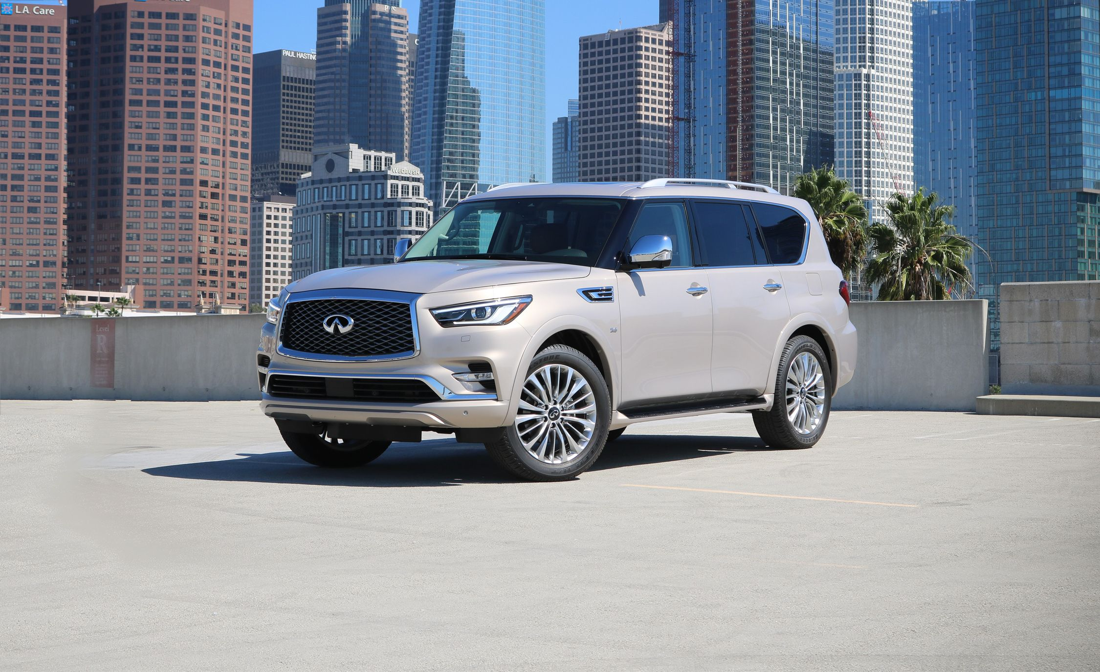 2018 Infiniti QX80 Revealed: Second Timeu0027s The Charm For This Giant SUV