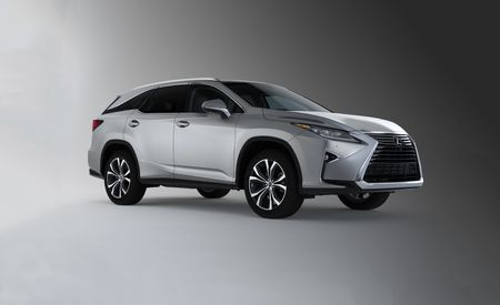 2018 Lexus RX350L / RX450hL: The RX Gets an Extra-Length Rx