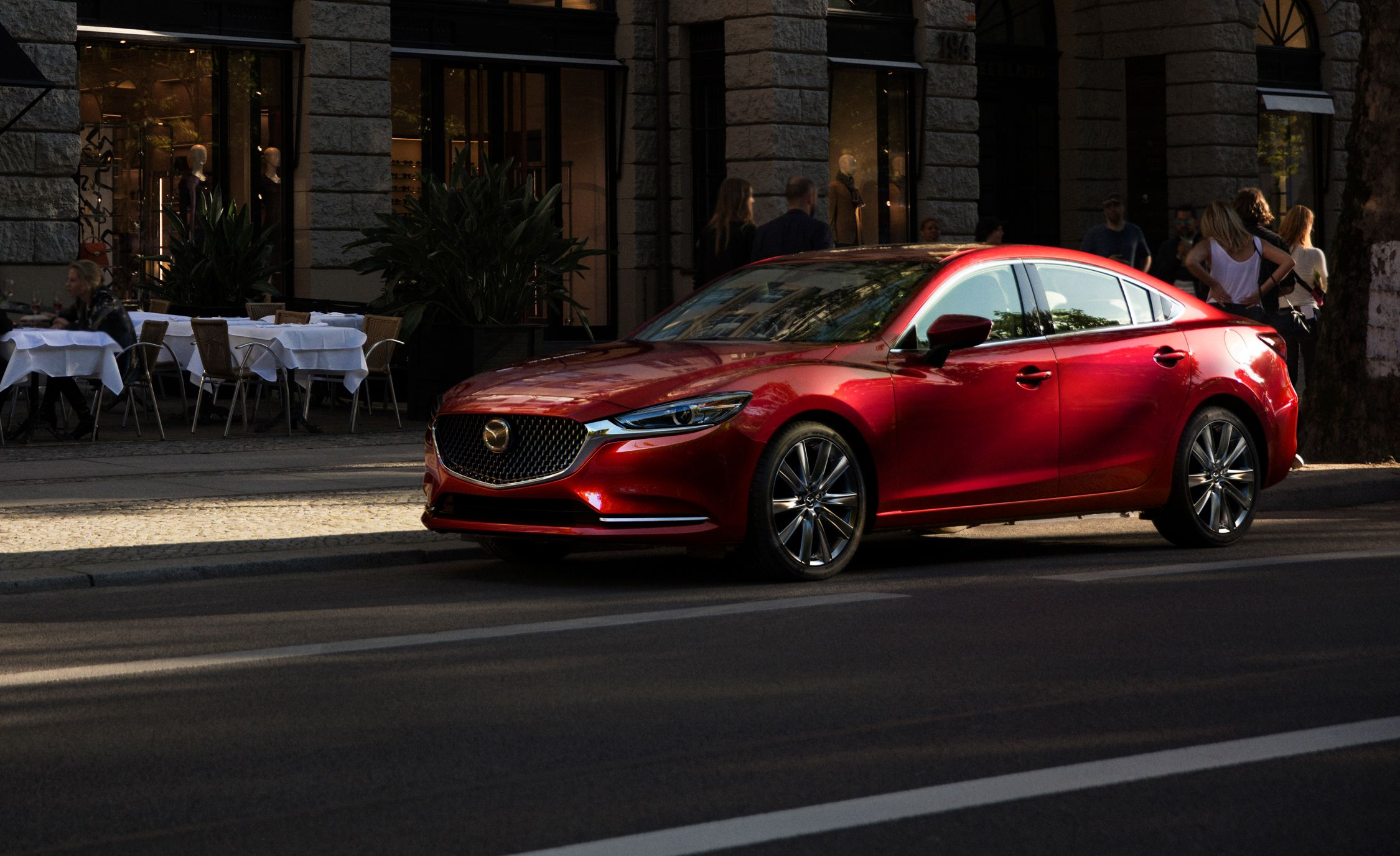 2018 Mazda 6 Redo Includes Turbocharged Engine