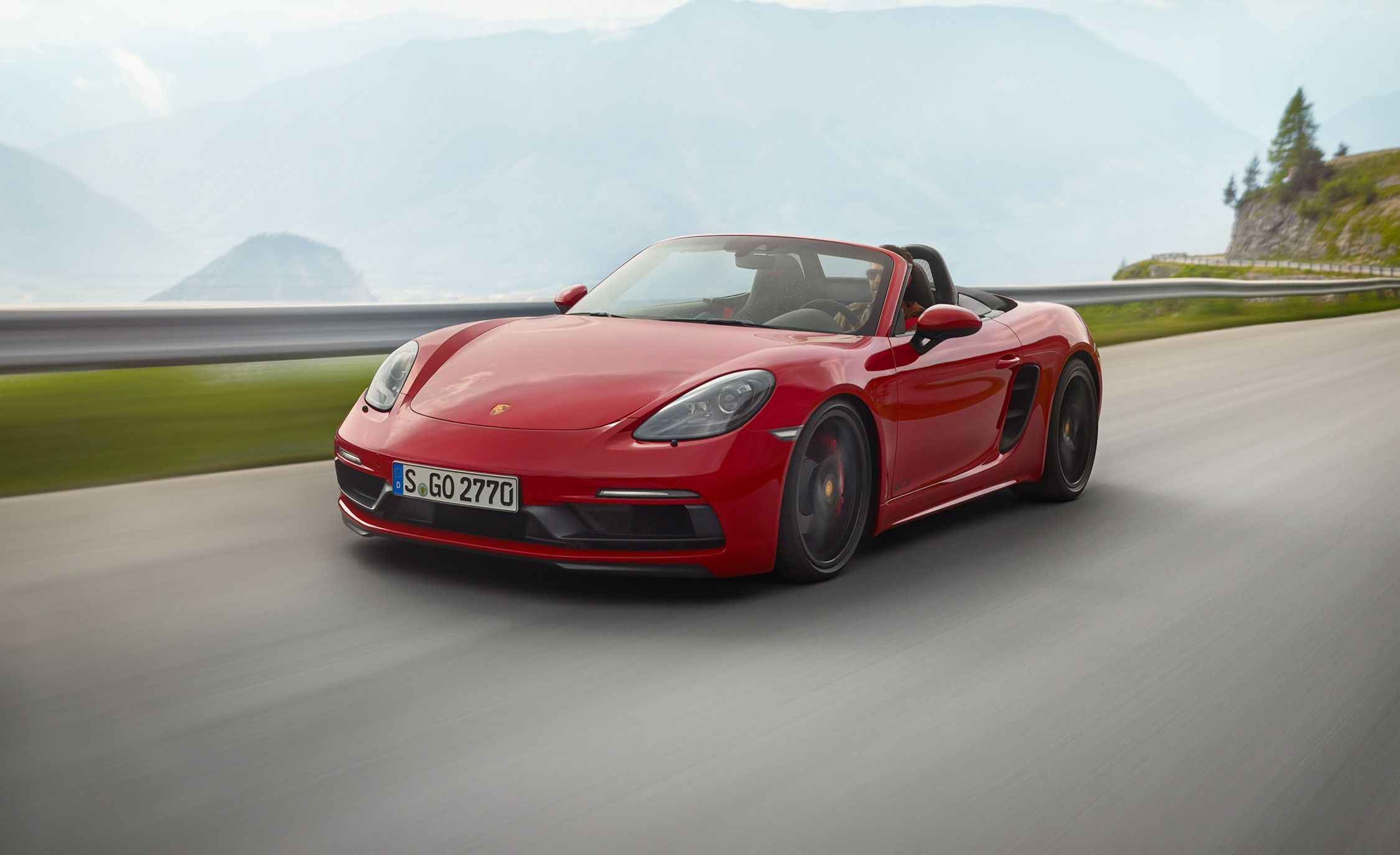 2018 porsche 718 spyder. Perfect Porsche 2018 Porsche 718 Boxster  Cayman GTS Photos And Info  News Car  Driver Intended Porsche Spyder D