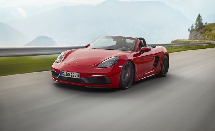 2018 Porsche 718 Boxster / Cayman GTS: The Usual Formula, Now for Fours