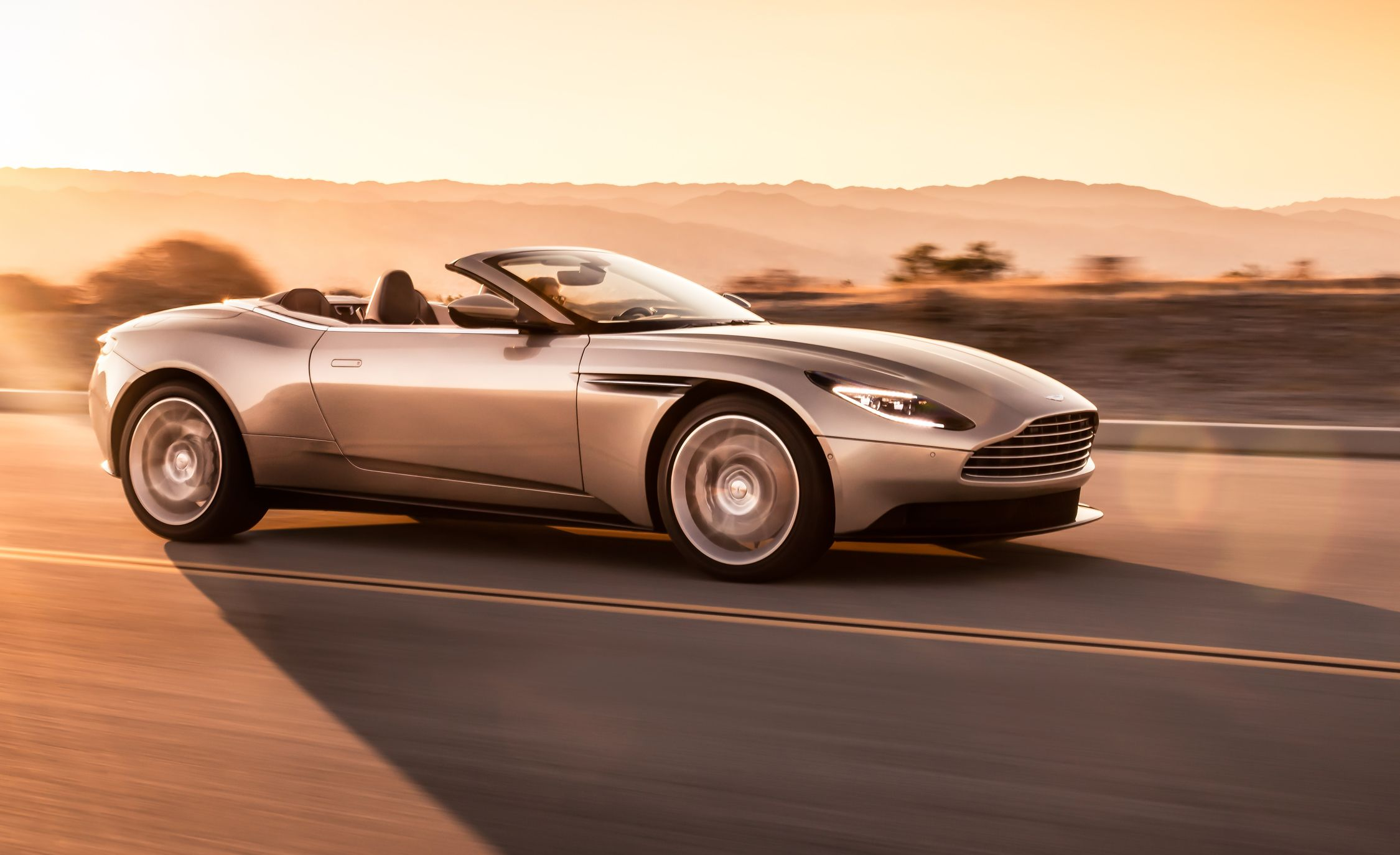 2019 Aston Martin Db11 Volante Photos And Info News Car And Driver