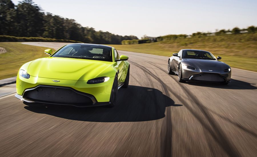 Aston Martin Vantage Unveiled Its Stunning News Car And - Aston martin news