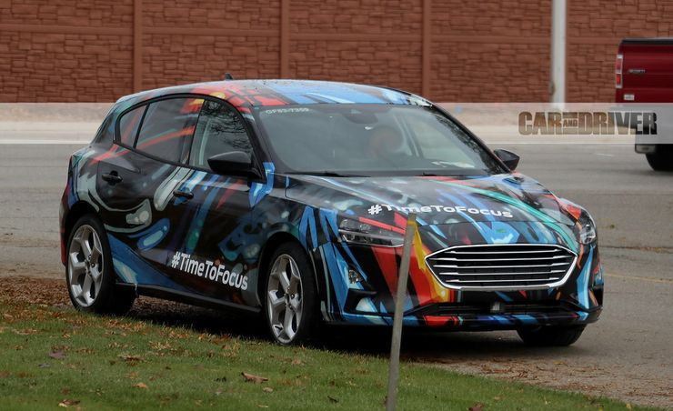 2019 Ford Focus Hatch Spied Nearly Uncovered!